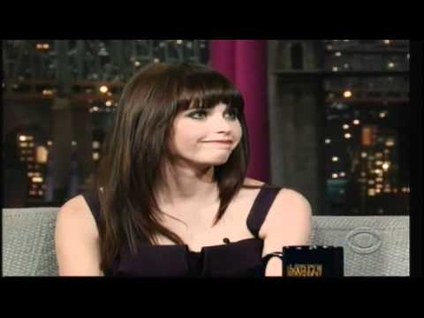 Felicity Jones on   David Letterman  [November 2011]