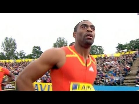 Tyson Gay wins 100m in London Diamond League - from Universal Sports