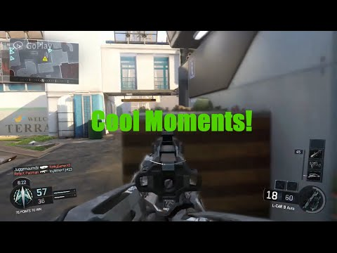 Random Cool BO3 Moments and Hellstorm Missiles (CoD: BO3)