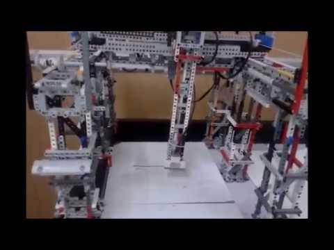 RoboClub EV3Cartesian Robot
