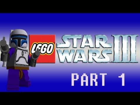 Gaming with the Kwings - Lego Star Wars III (Wii) co op part 1