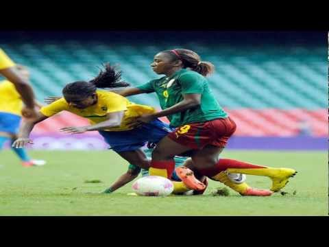 Olympics London 2012: Brazil vs Cameroon 5 - 0 25/07/2012 Women's 