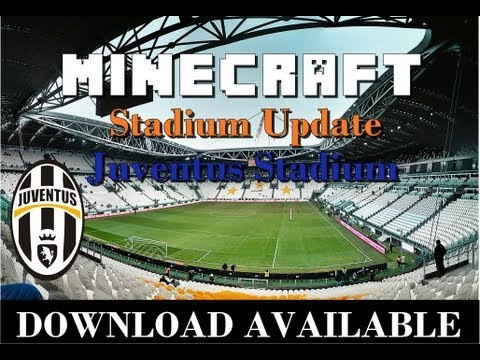 Juventus Stadium in Minecraft
