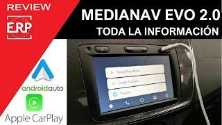 Prueba Medianav EVOLUTION 2.0 / Android Auto / Apple Car Play. Review / Test.