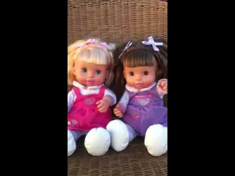 You And Me Too Cute Twin Dolls Interactive Youtube