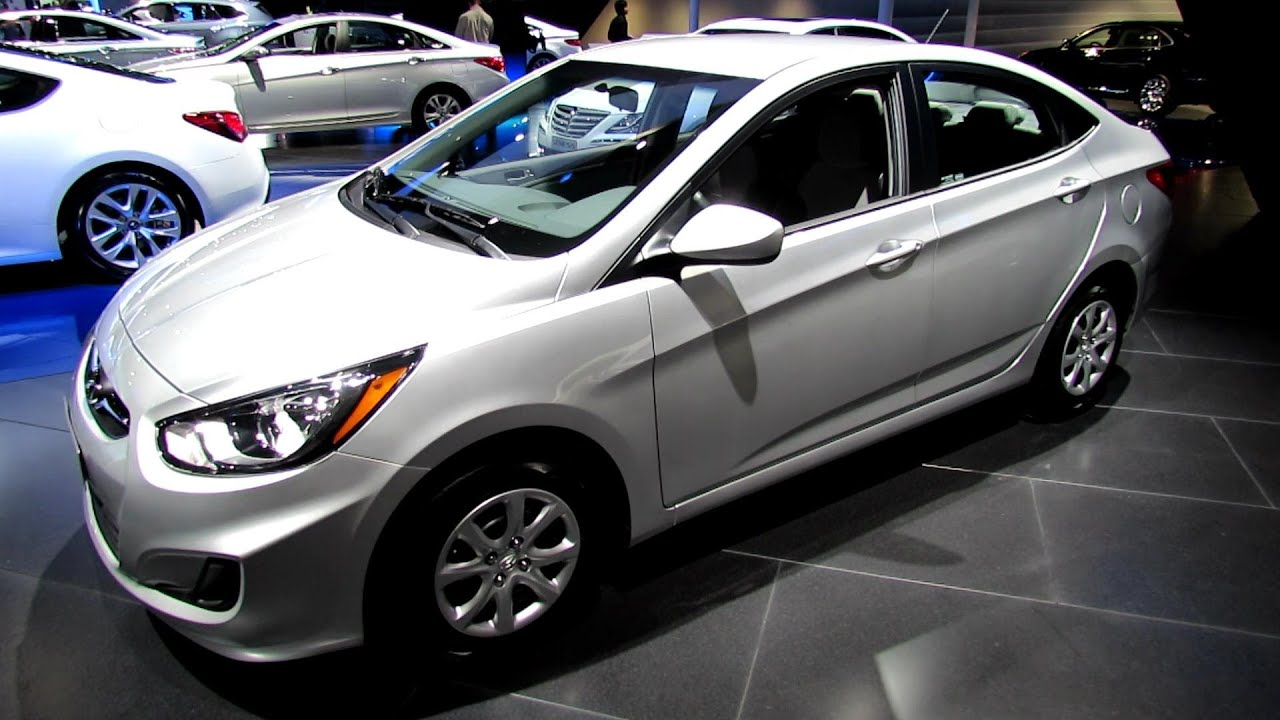 2013 hyundai accent exterior and interior walkaround 2012 los angeles auto show youtube. Black Bedroom Furniture Sets. Home Design Ideas