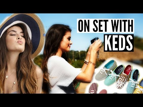 BEHIND THE SCENES OF A KEDS PHOTOSHOOT + Spring Lookbook