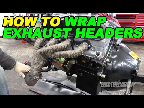 How To Wrap Exhaust Headers
