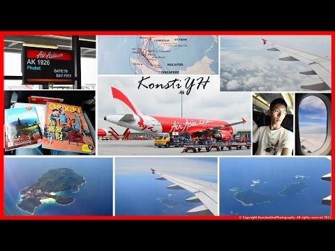 AirAsia Flight Review : AK1926 Kuala Lumpur to Phuket by KonstiYH