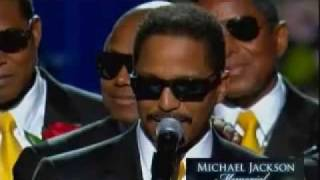 Micheal Jackson Memorial Full #1 MJ Brother Great Talk