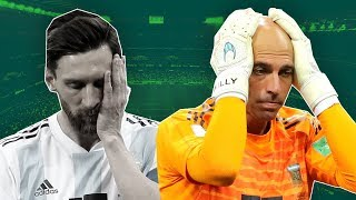 Willy Caballero's World Cup Mistake ► Why Argentina Have a History of Bad Goalkeepers