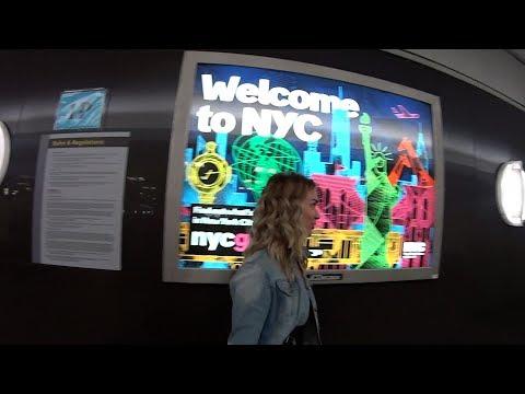 🇺🇸 Как мы переехали в Нью Йорк в США. ВЛОГ. Аэрофлот Верни сумку! Выиграли GREEN CARD. В США.