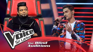 Tharuja Ranasinghe - Aalaye Gatha Blind Auditions | The Voice Sri Lanka