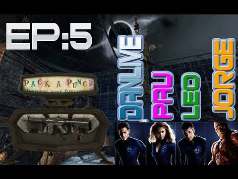 Los fantastic 4 en Der Riese Multilive-Black Ops-Parte 5/?