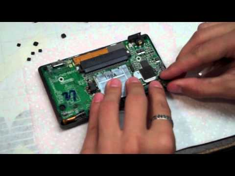How to Fix/Repair NDSL/DS Lite Top/Upper LCD Screen 2/3