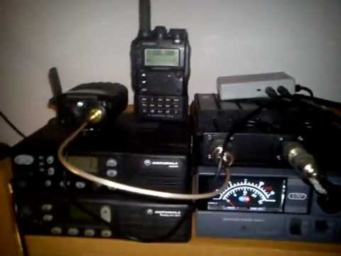 RadioTone VHF Repeater with duplexer test