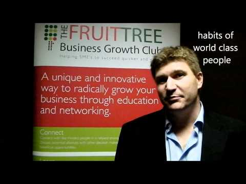 Simon Hartley, performance coach for The Fruit Tree Business Growth Club