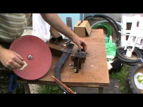 Как сделать диск для окучника