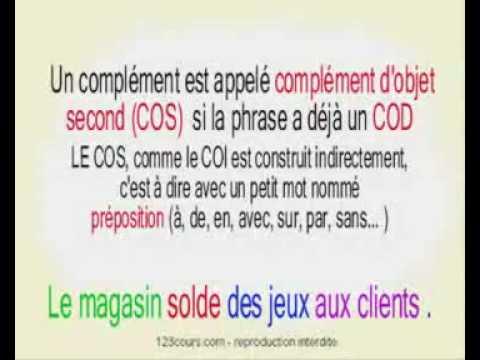 Cours gratuit de français, exercices de français grammaire ...