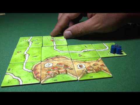 Maratona Carcassonne Parte IV - Traders & Builders e Abbey &Mayor - Neno Review 008