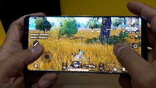 Samsung Galaxy Note 8 Test game PUBG Mobile
