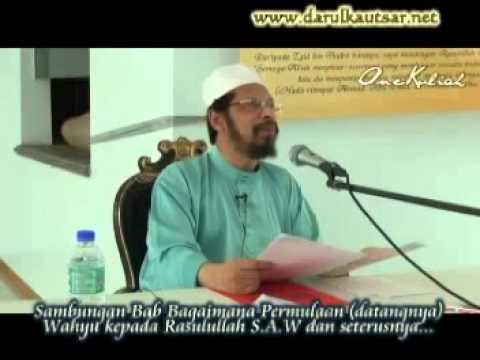 Sahih Bukhari Kitab Wahyu Sesi 2 - 211012 -