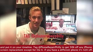 50% OFF iPhone Screen Repairs this Black Friday at Phone Repair Philly
