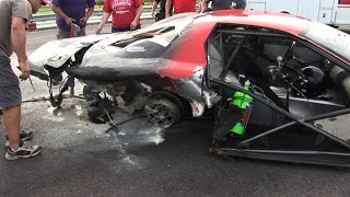 SCARY Big Tire Firebird CRASH