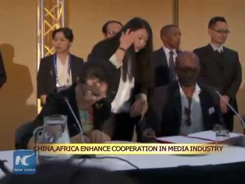 China, Africa enhance cooperation in media industry