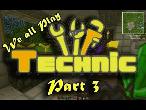 Technic #3 - Nether Factory and Industrial Craft Power