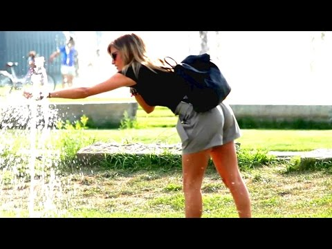 Hot Girls Get High Fives With Lube! video