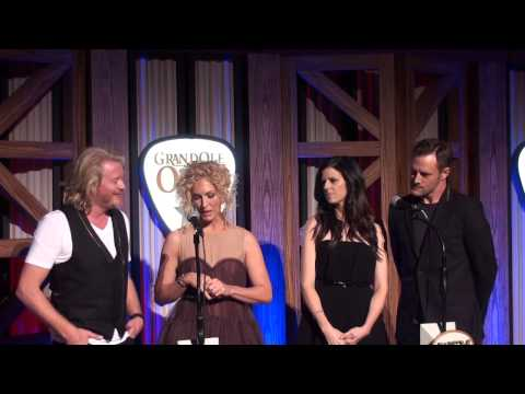Little Big Town's Grand Ole Opry Induction