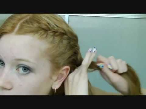 how to french braid own hair - photo #14