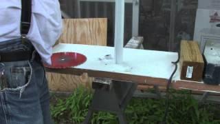 Cutting a vinyl window shade