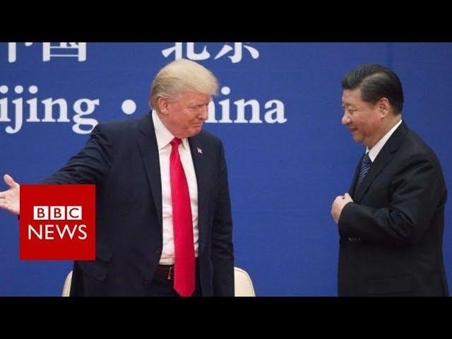 Trump: 'I don't blame China' - BBC News