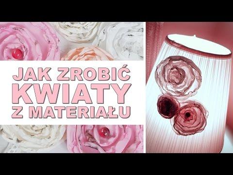 Jak Zrobić Kwiaty Z Materiału | DIY #14 | HAART