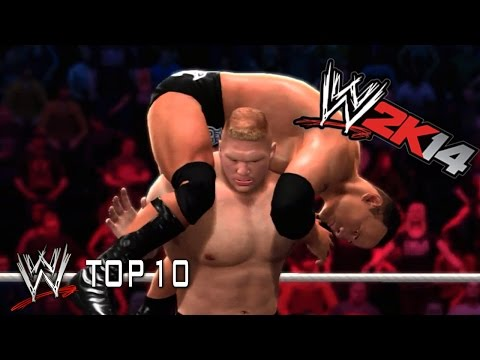 Brock Lesnar's Signature Moves - Wwe 2k14 Top 10 video
