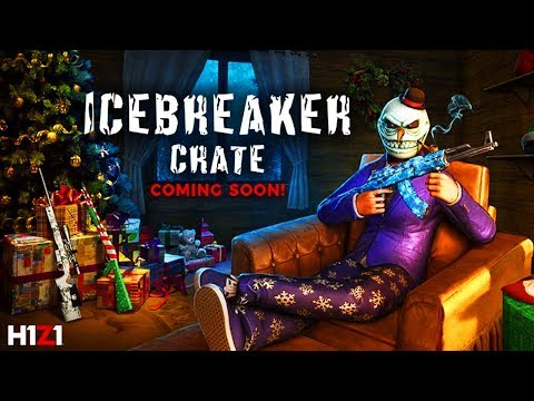 NEW Icebreaker Crate Skins Coming To H1Z1! Icebreaker AK47, Snow Globe Riot Shotgun, Abominable Mask