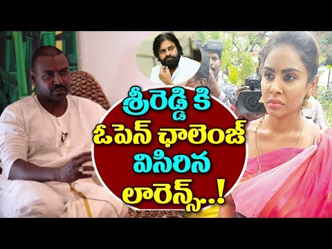 Raghava Lawrence Directly Challenges to Sri Reddy | Casting Couch | Sri Reddy | Top Telugu Media
