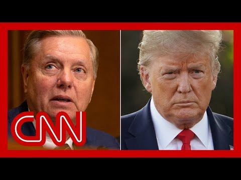Trump trashes Graham over criticism of Syria policy