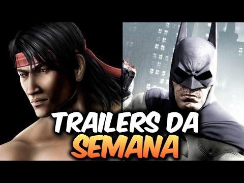 Batman   Cod   Mortal Kombat - Trailers Da Semana video