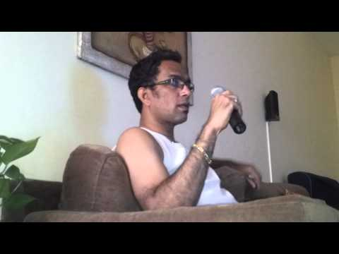 My first karaoke song audition - Kasme Vaade pyaar wafa