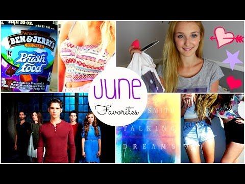 June Favorites ♥ ice cream, tv shows, makeup & more!
