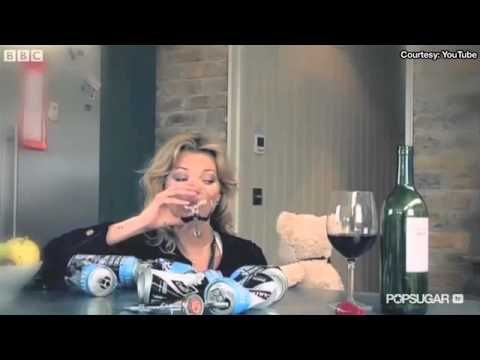 Kate Moss Smokes on the Runway and Gets Drunk With a Bear!