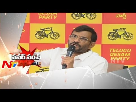 Somireddy Chandra Mohan Reddy Punch to YSRCP Party | Power Punch | NTV Photo Image Pic