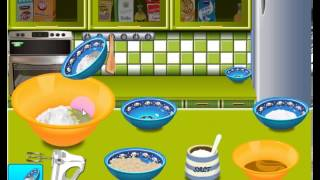 Sara cooking games Peanut butter cookies online game