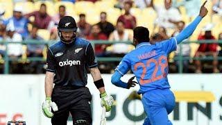 ICC Champions Trophy 2017 || India vs New Zealand Practice Match ||