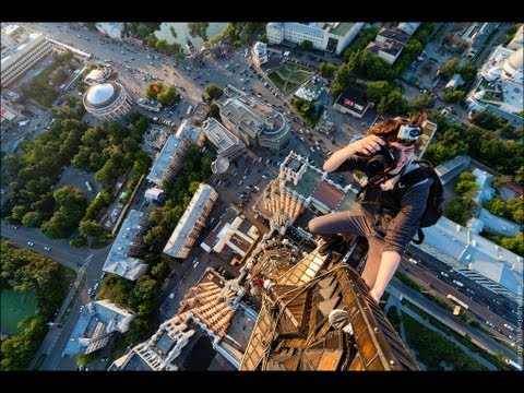 The man who climbed all the highest roofs in Russia