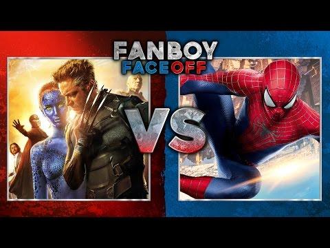 X Men vs Spider Man: Fanboy Faceoff