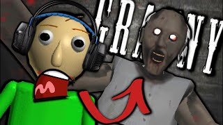 What if Baldi played Granny Horror Game? (Baldi's Basics in Granny Mobile Horror Game)